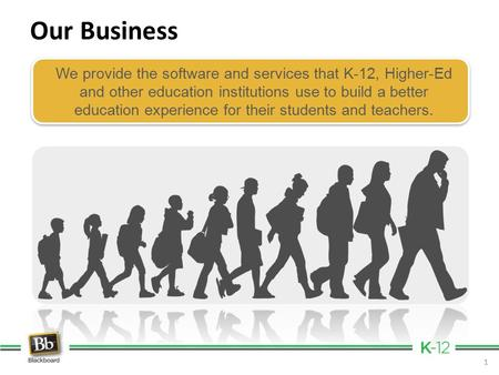 We provide the software and services that K-12, Higher-Ed and other education institutions use to build a better education experience for their students.
