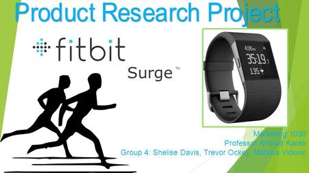 Product Research Project