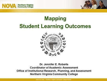 Mapping Student Learning Outcomes
