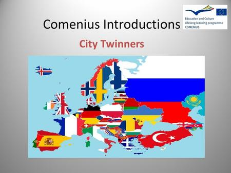 Comenius Introductions City Twinners. Crownfield Junior School, London UK Crownfield Junior School is in the London Borough of Havering, in the east of.