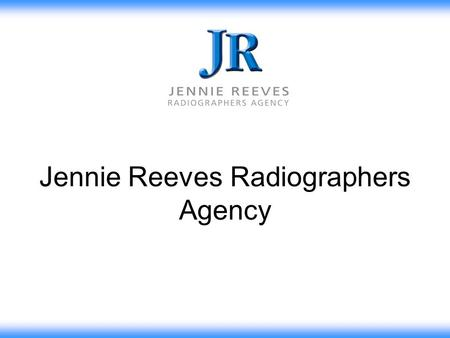Jennie Reeves Radiographers Agency. Jennie Reeves Advert in Rad Mag - 1984 Jennie Reeves Radiographers Agency - Recruiting Since 1968 Social Networking.