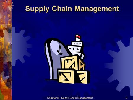 operations and production management chapter 1