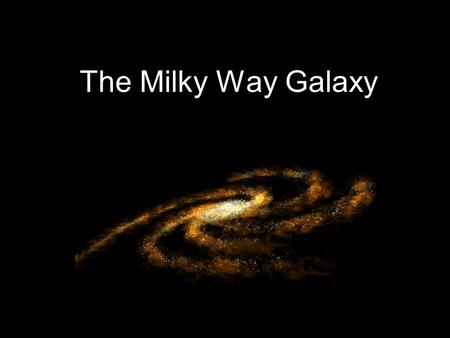 The Milky Way Galaxy. Structure of the galaxy The Milky Way is a spiral galaxy The galactic center is the thickest part. Around a dozen arms spin around.