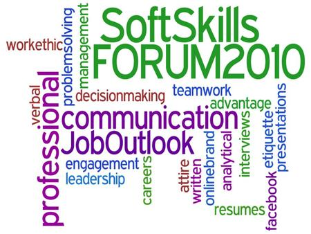 Why Soft Skills Matter: 2010 Job Outlook Beverly Amer, Northern Arizona University.
