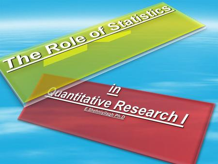 What is Statistics/Statistic  Set of methods and rules for organizing summarizing, and interpreting information 2.