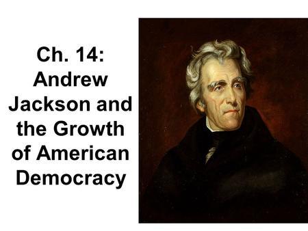 how democratic was andrew jackson