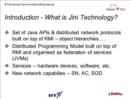 Introduction - What is Jini Technology?