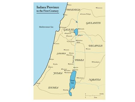 Caiaphas the high priest While Judaea was a Roman province (from 6 CE) and had been under Roman control from 63 BCE, the Jews continued to practice their.