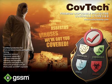 CovTech™ 365 Series P remium Disposable Coveralls Clothing essentials For Critical Environments.