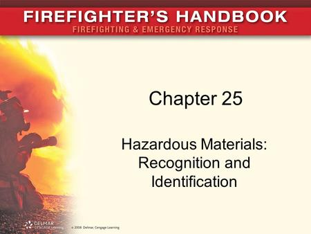 Hazardous Materials: Recognition and Identification