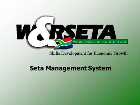 Seta Management System. Introduction 1.Offline Versions 2.Capturing of Learners and Agreements 3.Capturing of Achievements.