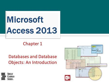 Microsoft Access 2013 Chapter 1 Databases and Database Objects: An Introduction.
