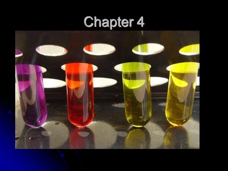 Chapter 4. Solution: -> Any homogeneous mixture. All parts of the mixture have the identical composition. Solvent – The substance in a solution that causes.