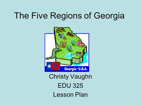 The Five Regions of Georgia
