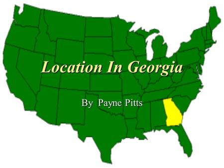 Location In Georgia By Payne Pitts. Georgia On My Mind Artist: Ray Charles On April 24, 1979, Georgia On My Mind, was designated Georgia's official.