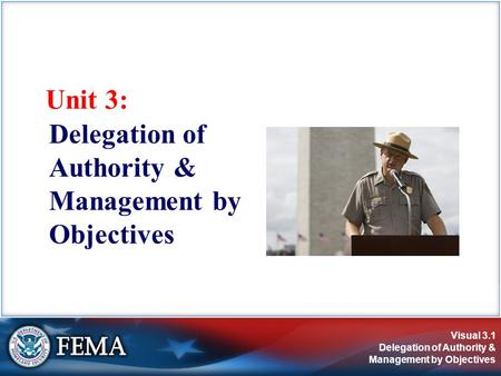 Delegation of Authority & Management by Objectives