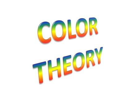 Color is the perceptual characteristic of light described by a color name. Specifically, color is light, and light is composed of many colors—those we.