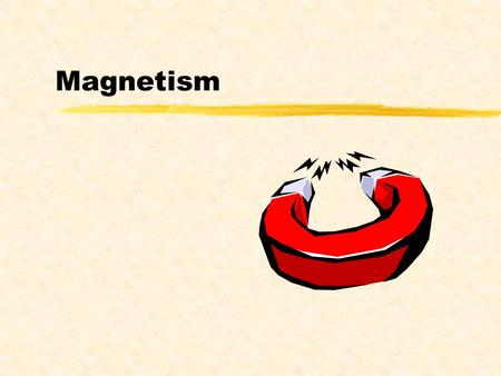 Magnetism. Properties of Magnets zAll magnets have two areas of strongest force, called poles. zEach magnet has one north pole and one south pole. zLike.
