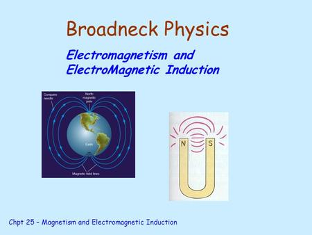 magnetism and electromagnetic induction pdf