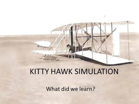 KITTY HAWK SIMULATION What did we learn?. TEAMS: Intra/Entrepreneurship Intrapreneur: a person within a large corporation who takes direct responsibility.