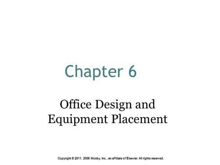 Chapter 32 the dental office 1 ppt download for Dental office design chapter 6