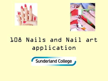 108 Nails and Nail art application