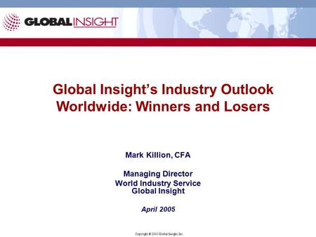industrial pcs worldwide outlook World trade in volumes industrial slack in china general features and composition of groups in the world economic outlook classification.