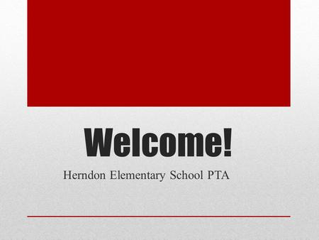 Welcome! Herndon Elementary School PTA. What does the PTA do? The PTA supports your child's education by providing field trips, assemblies, clubs, school.