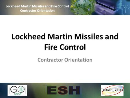 Lockheed Martin Missiles and Fire Control