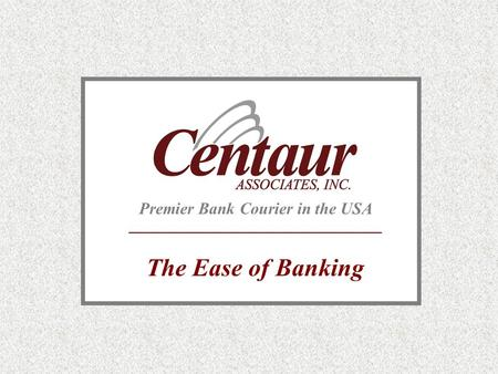 Premier Bank Courier in the USA The Ease of Banking.