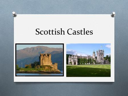 Scottish Castles. Edinburgh Castle Scotland's most visited tourist attraction.