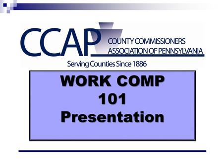 WORK COMP 101 Presentation. The Way it Was……. Here is the story…..