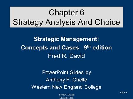 lecture 6 strategic analysis and choice Prepare with these 15 lessons on sat tips & strategies  my friends who have  already taken sat says that focusing in essay is almost a wrong choice   definitely make an outline first, there's a planning page in the packet  6 months  ago.