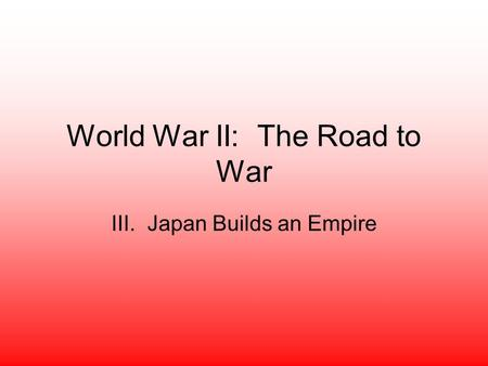 the factors contributing to japans aggression