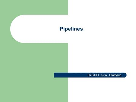 Pipelines DYSTIFF s.r.o., Olomouc. Revamping of the Vacuum Distillation Unit Piping stress and strength calculation of 30 pipelines according to B31.3.