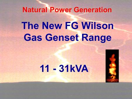 Natural Power Generation