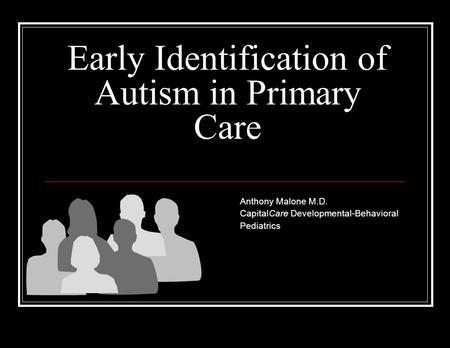 early identification of autism View more video news releases at with autism being reported at higher rates than ever before, specialists at.