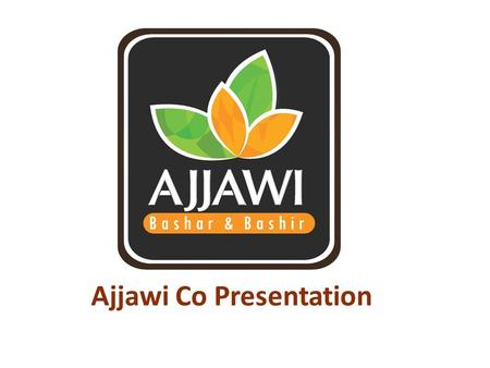 Ajjawi Co Presentation. Index Introduction Mission statement Mission & Vision Scope Of Business Partners & Agencies Ajjawi Staff & Org. Chart Ajjawi Site.