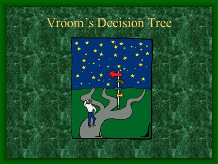 Vroom's Decision Tree. Vroom and Yetton's Model Five different types of decision making which vary according to the amount of subordinate influence One.