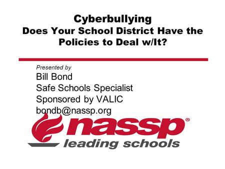 cyberbullying and school policies After months of cyberbullying, the 16-year-old alamo heights high school   would criminalize cyberbullying, mandate school policies in texas.