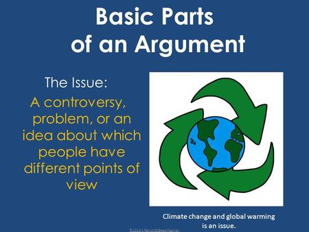 Basic Parts of an Argument
