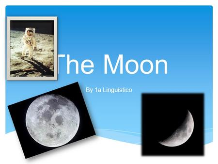 The Moon By 1a Linguistico.  There are four different theories on how the moon was created but most scientists agree that the moon was created after: