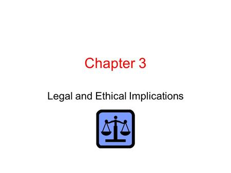 Chapter 3 Legal and Ethical Implications. Federal regulation Federal Communications Commission Sponsorship identification … Must sponsor's name be mentioned.