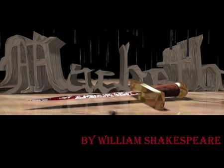 By William Shakespeare. Shakespeare's Scottish tragedy is known as his darkest work. It is about Macbeth's bloody rise to power, including the murder.