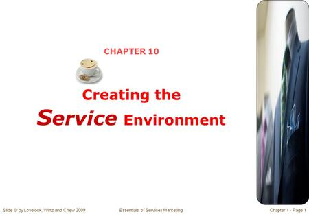 CHAPTER 10 Creating the Service Environment