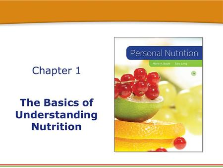 Chapter 1 The Basics of Understanding Nutrition. True or False? 1. It is possible to have an appetite without being hungry. 2. Most people obtain information.