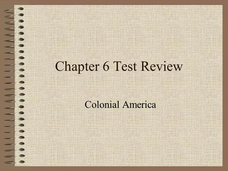 Chapter 6 Test Review Colonial America Football Review Game Rules Select the level of question you would like to attempt (10, 20, 30, or 40 yards, there.