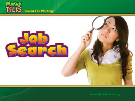 "Job Search Looking for a job is a ""job"" in itself."