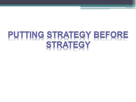 Topics → Business strategy must set goals → Partners selection → Criteria for selecting partners → Structure must maximize cooperation → Incentives for.