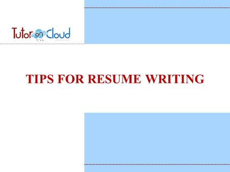 What is the primary purpose of a resume